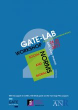 "2ème GATE-Lab Workshop ""Social and Moral Norms"", 24-25 octobre 2017"