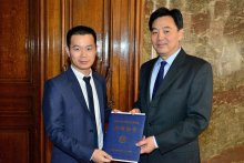 Zhixin Dai reçoit le Prix du China Scholarship Council